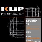 KLIP LEGEND GUT 16g HALF SET-