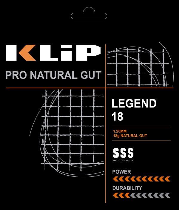 KLIP LEGEND NATURAL GUT 18g