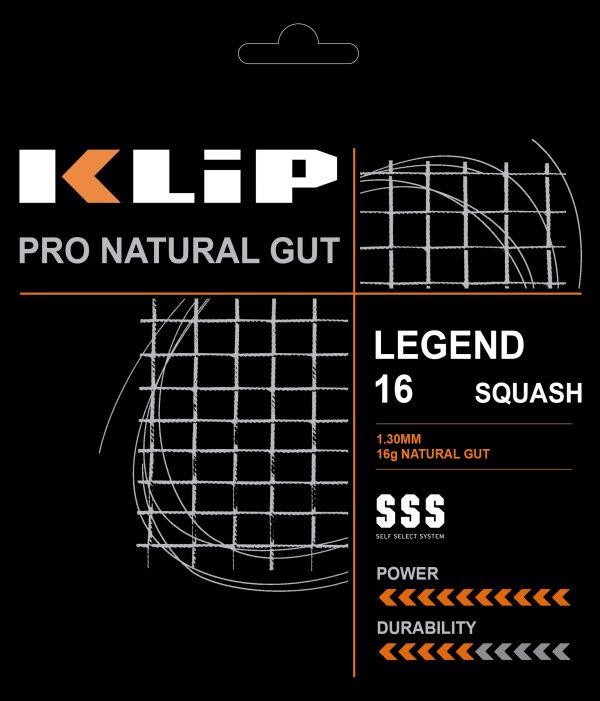 Natural Gut – Legend 16 Squash
