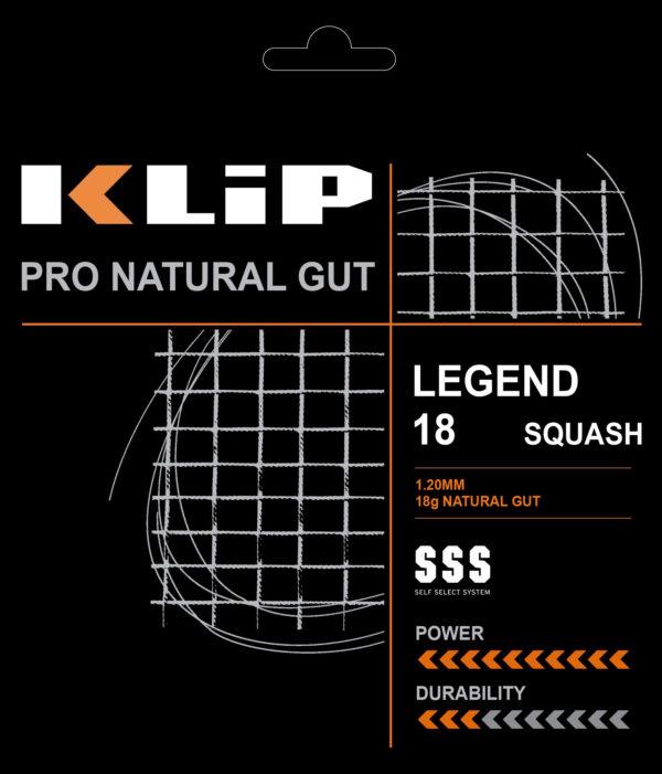 Natural Gut – Legend 18 Squash